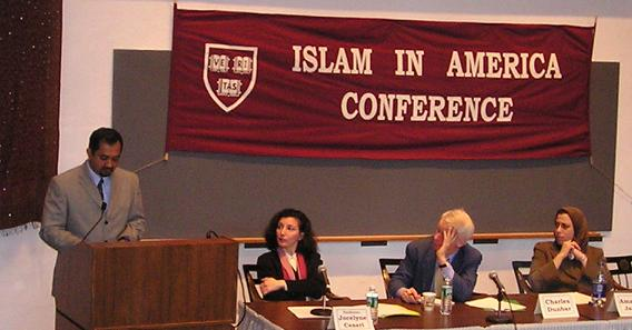 Speaking at the Islam in America Conference at Harvard University, March 06, 2004.