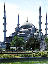The Blue Mosque -- Turkey